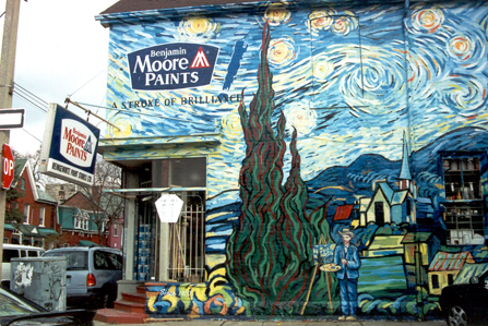 Starry Night mural