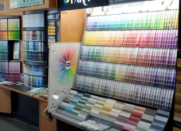 Paint Store's showroom
